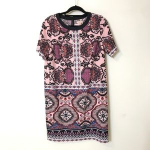 Gibson Latimer S Colorful Paisley Print Dress